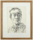 얼굴 스케치 /1991 /김인순
